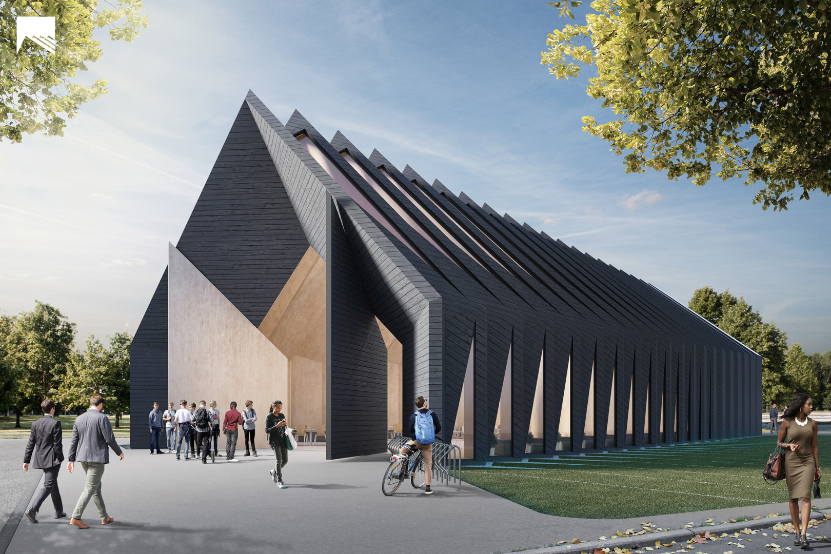 Mass Timber Longhouse